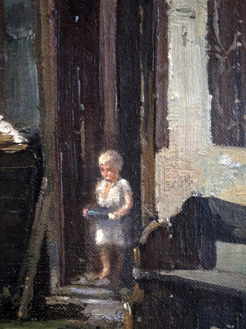 GERHRDUS J.ROERMEESTER (1844-1936) Cottage in mountain - 5