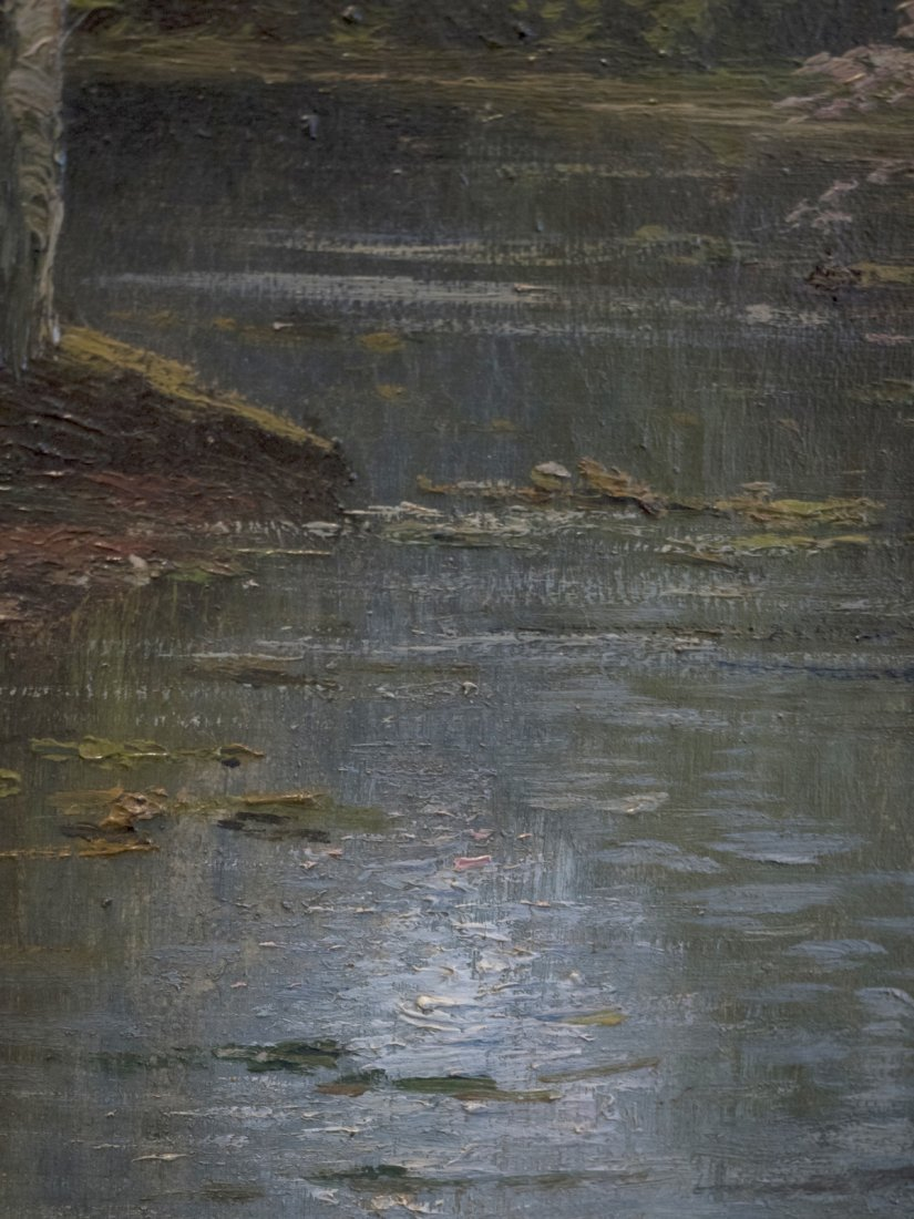 B.LAMBERT aka KARL KAUFMANN (1843-1905) Wooden Scene - 5