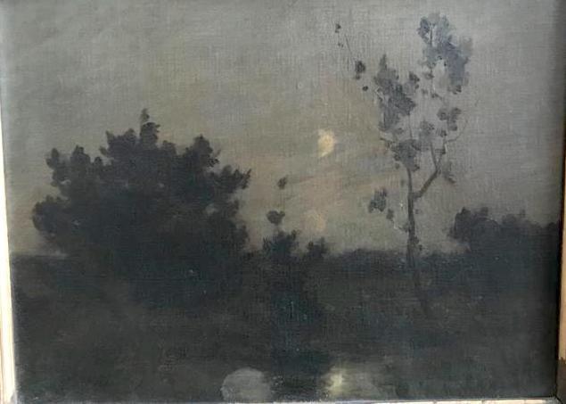 ALBERT GOSSELIN (1862-?) Landscape