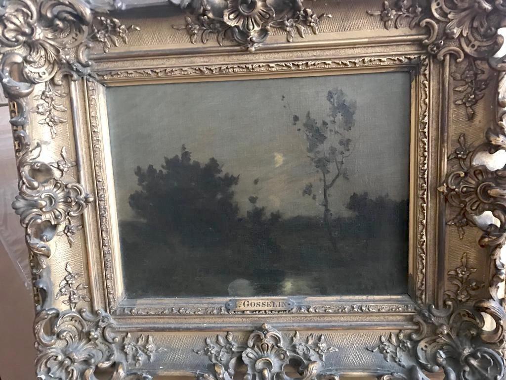 ALBERT GOSSELIN (1862-?) Landscape - 2