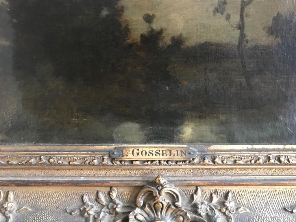 ALBERT GOSSELIN (1862-?) Landscape - 5