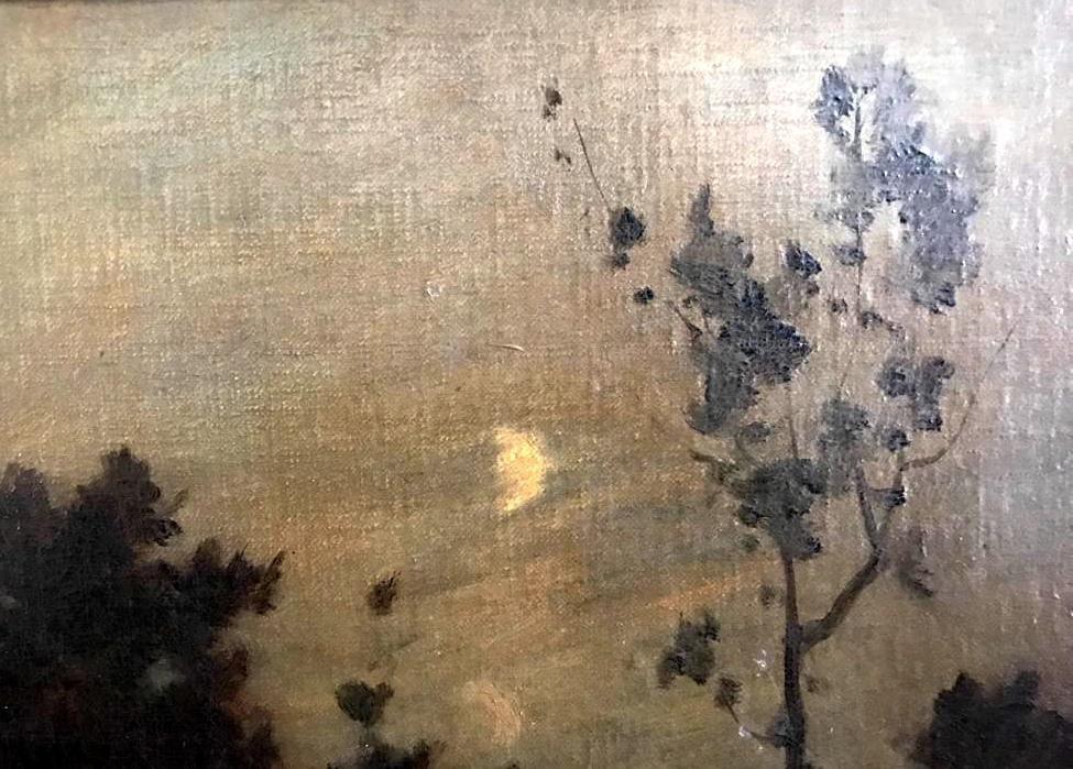 ALBERT GOSSELIN (1862-?) Landscape - 7