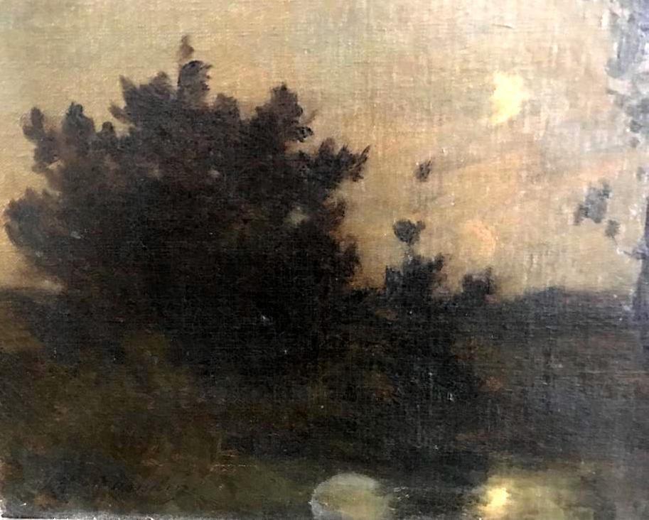 ALBERT GOSSELIN (1862-?) Landscape - 8