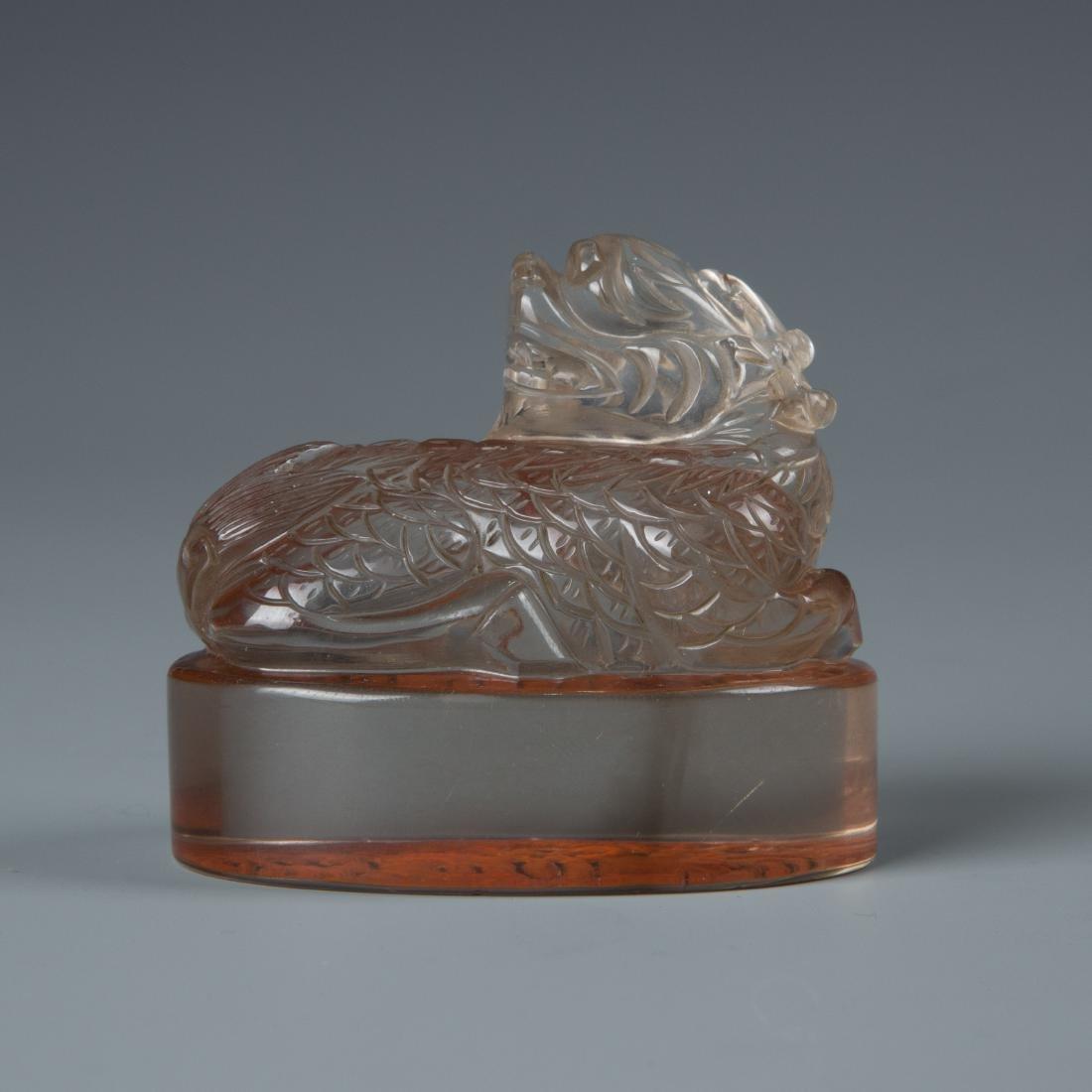 Crystal Animal Seal - 3