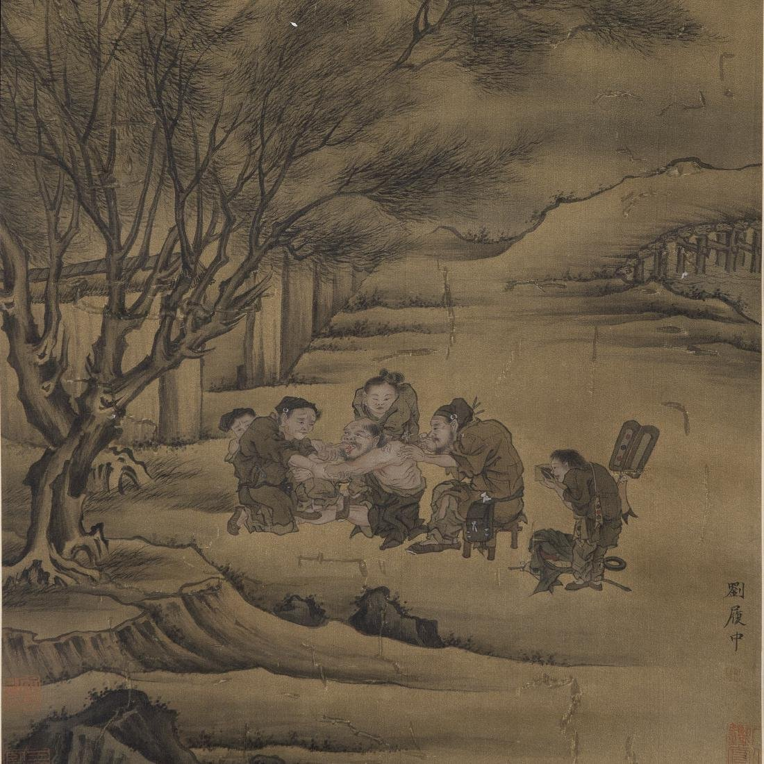 Chinese Painting On Paper Signed By LiuLuZhong - 2