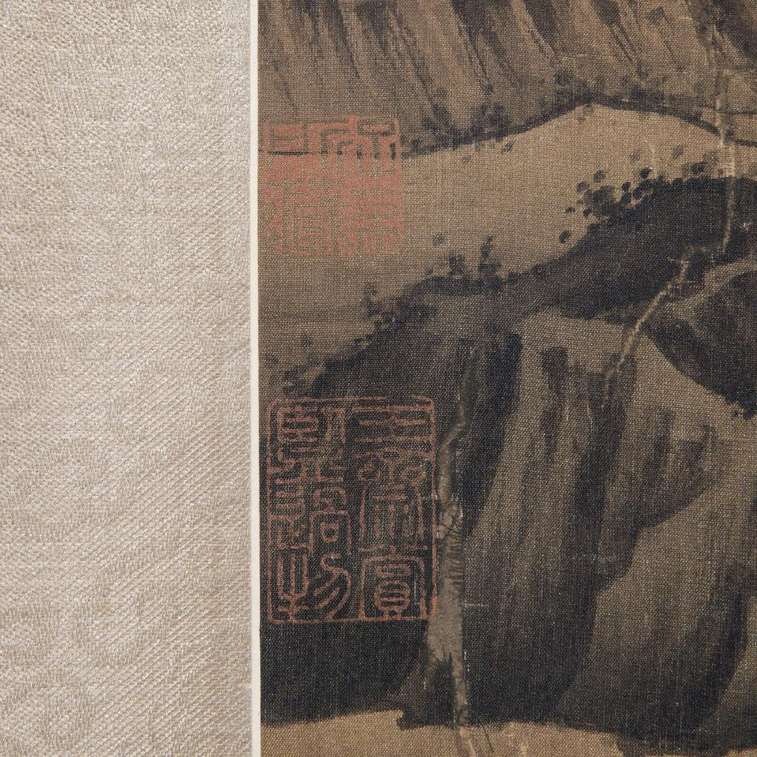 Chinese Painting On Paper Signed By LiuLuZhong - 5