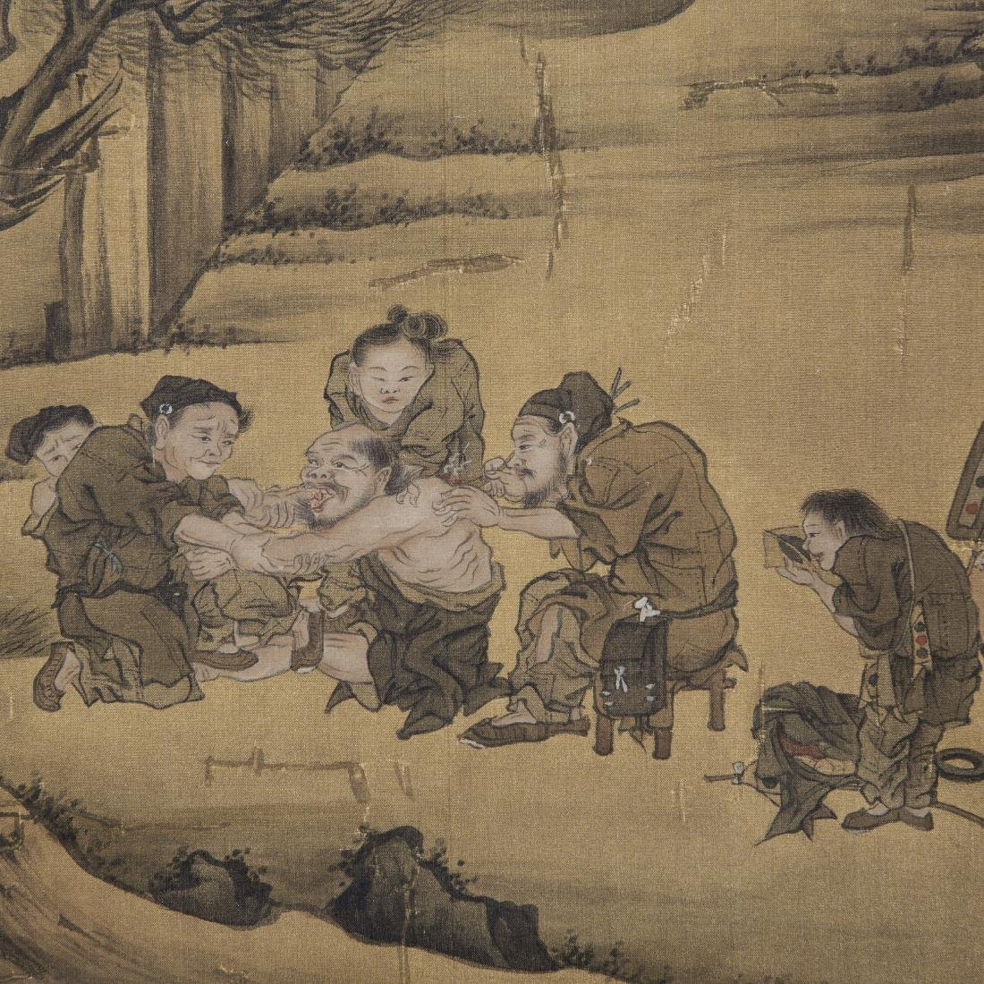 Chinese Painting On Paper Signed By LiuLuZhong - 6
