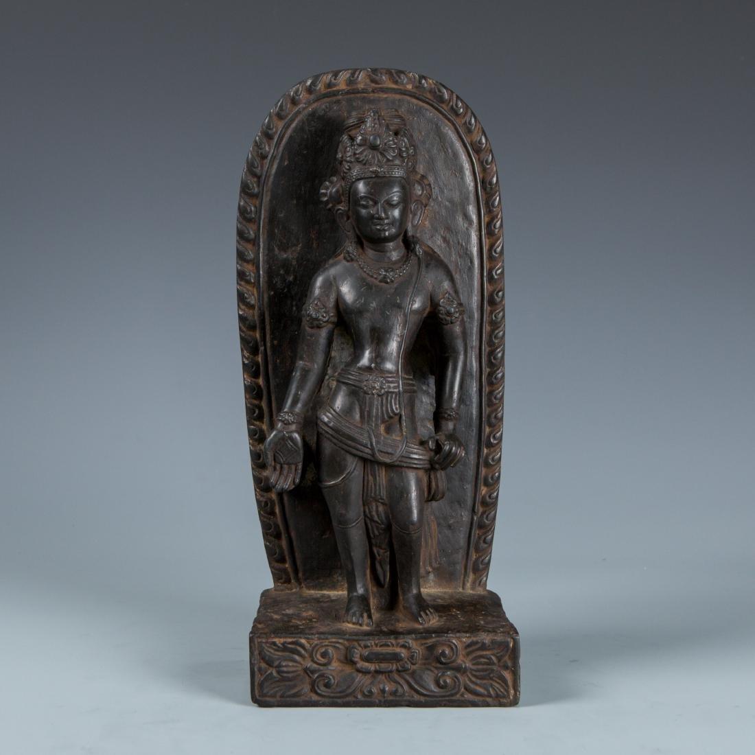 Stone Figure of Standing Buddha