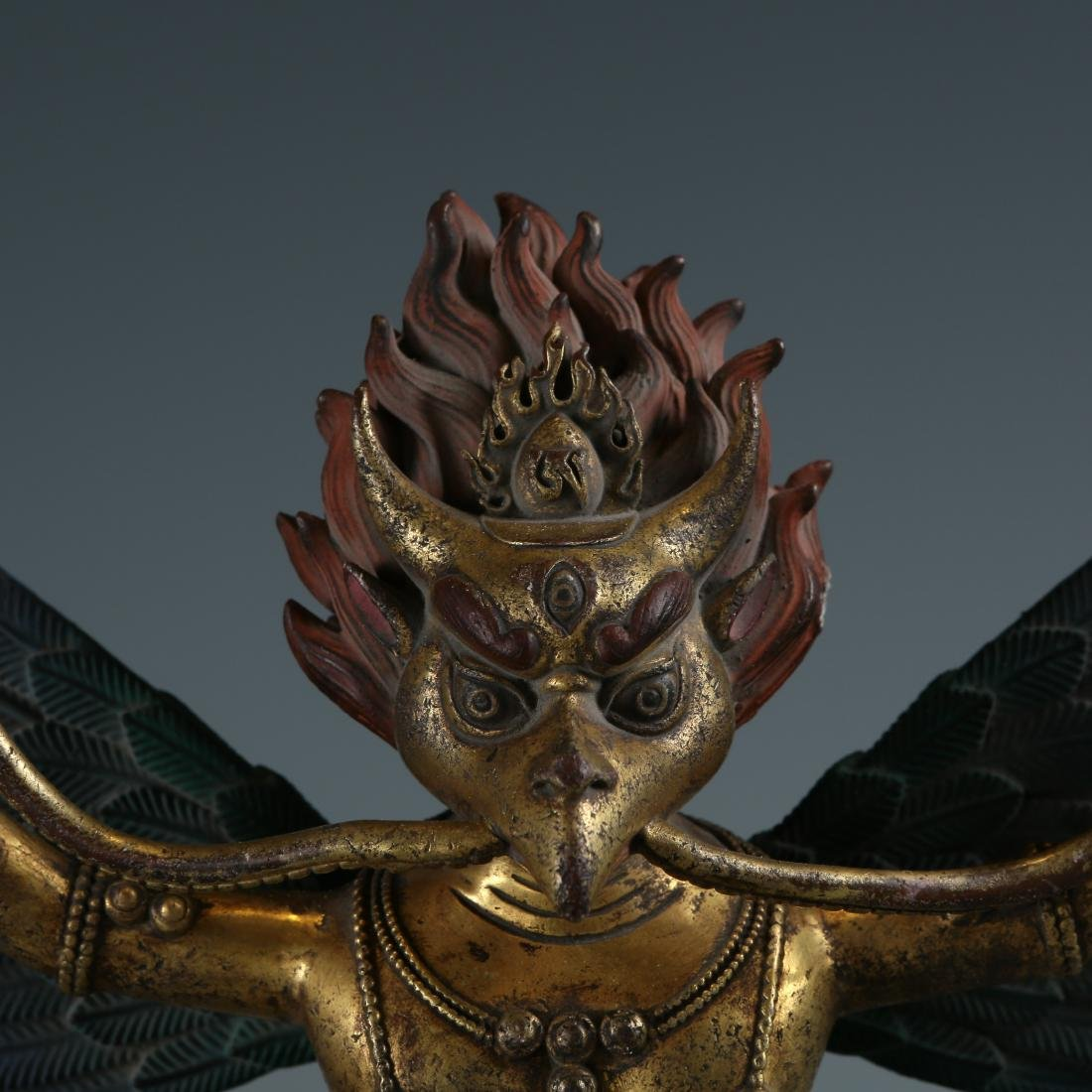 Bronze Figure of Garuda - 2