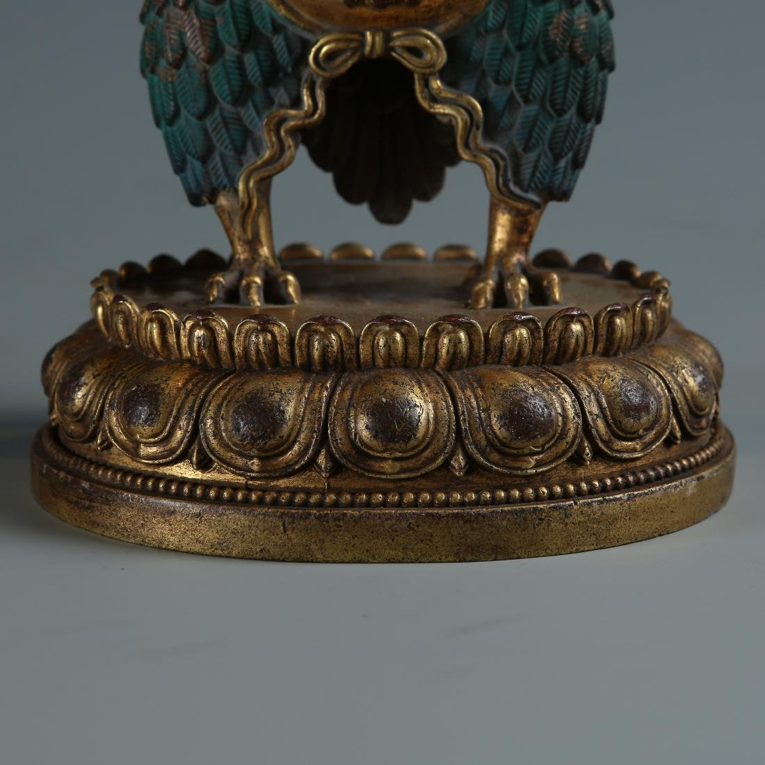 Bronze Figure of Garuda - 4