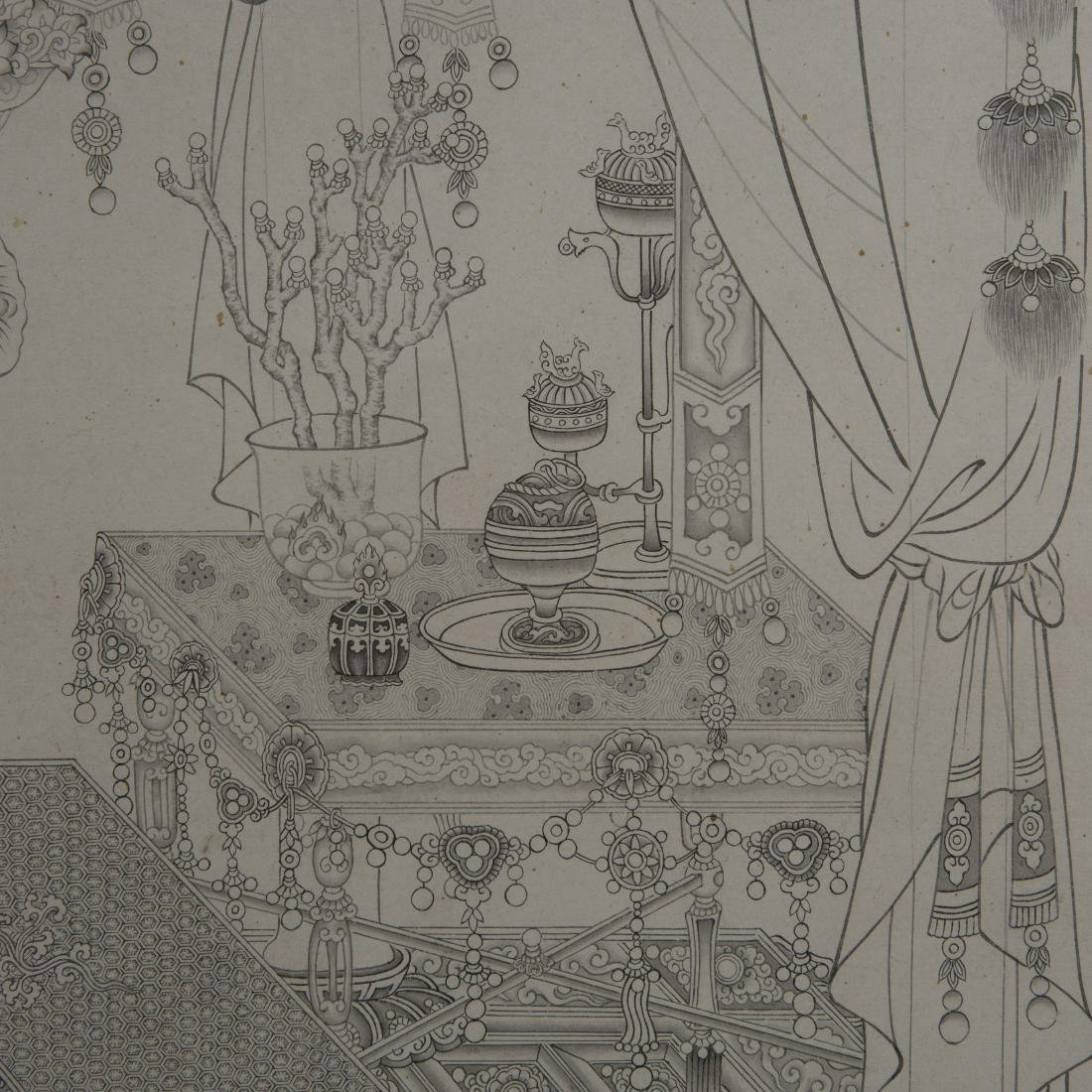 Chinese Painting On Paper Signed By DingGuanPeng - 8