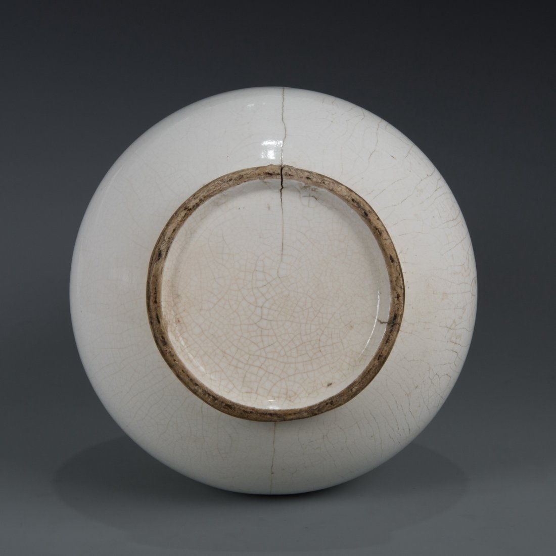 White-Glazed Double-Gourd Shape Vase - 6