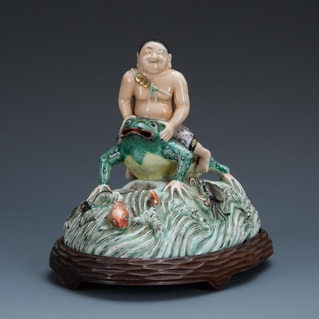 Figure of Liu Hai and His Three Legged Toad