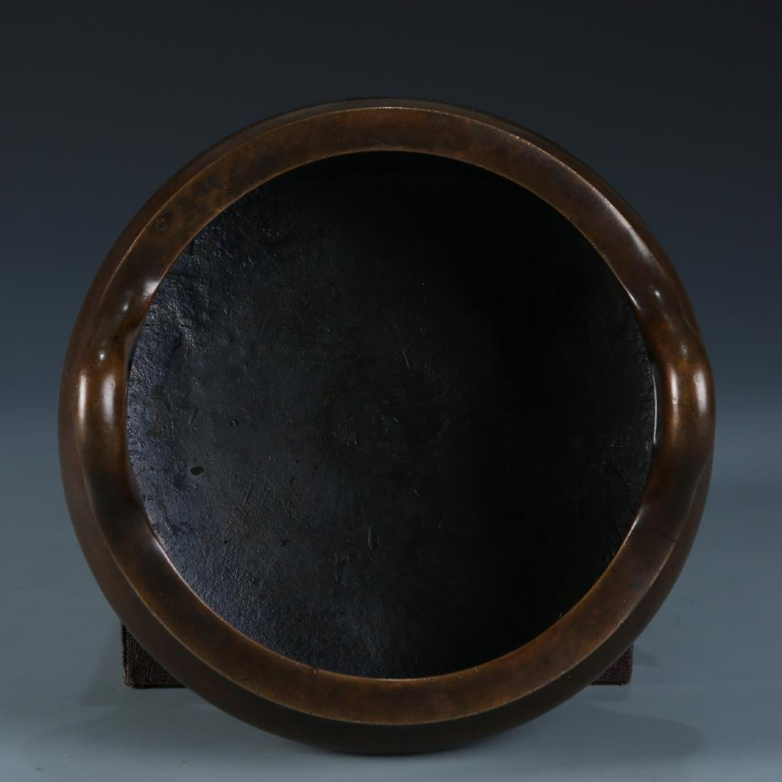 Bronze Tripod Censer with Mark, Daoguang - 6