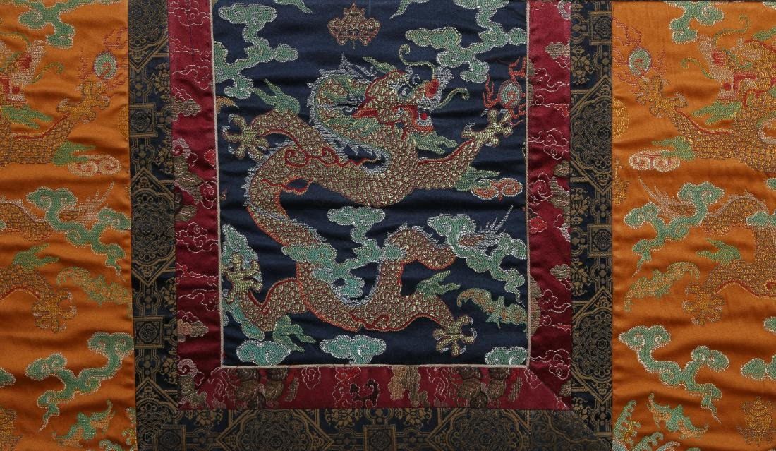 Rare Magnificent Tibetan Thangka w/ Pearl and Coral - 4