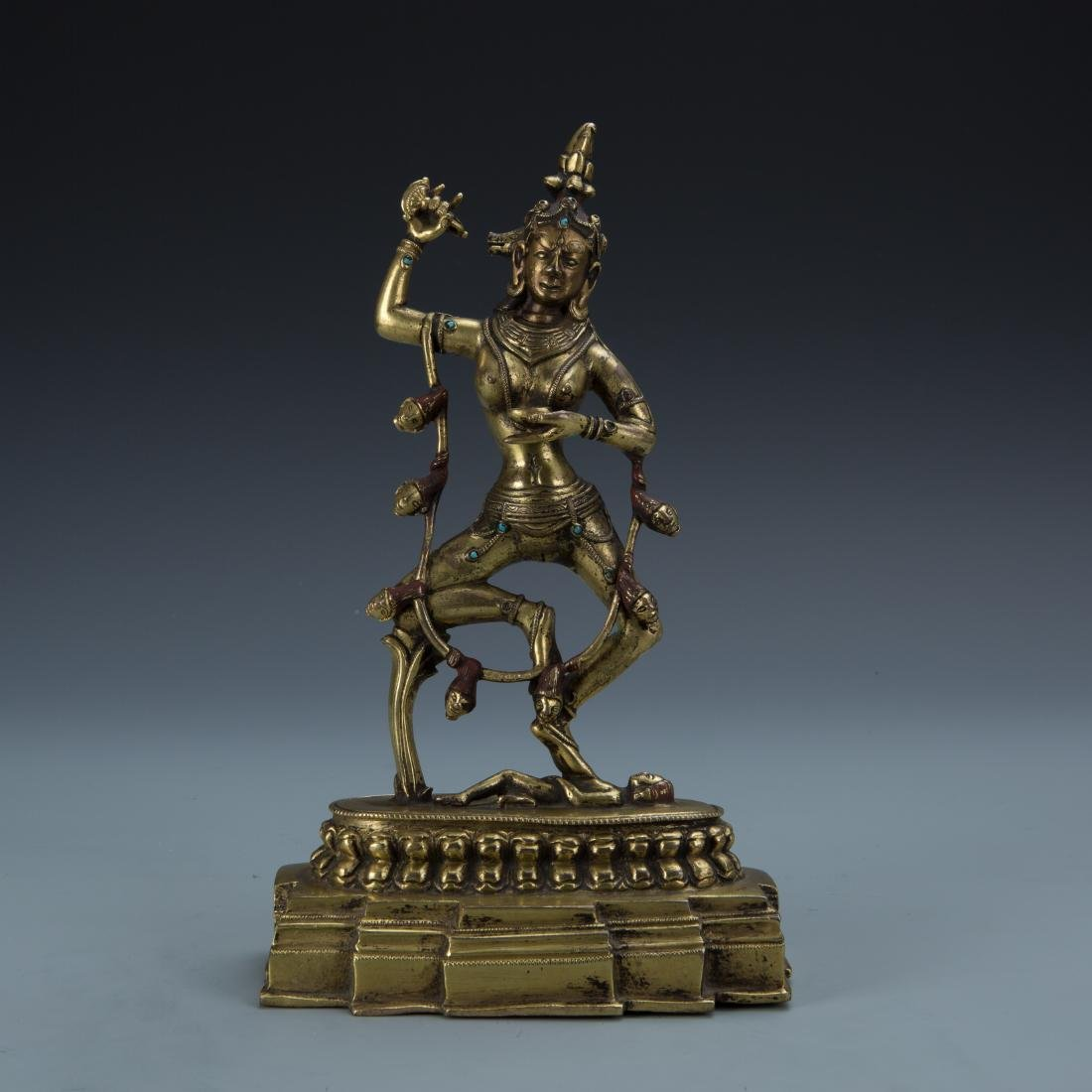 Gilt Bronze Figure of Dakini
