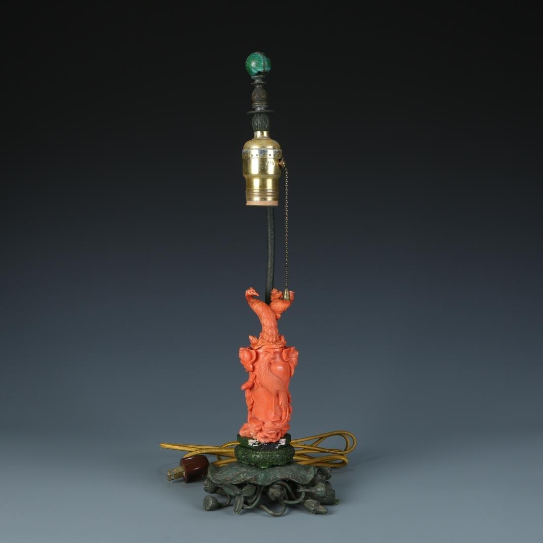 Coral Lamp Base