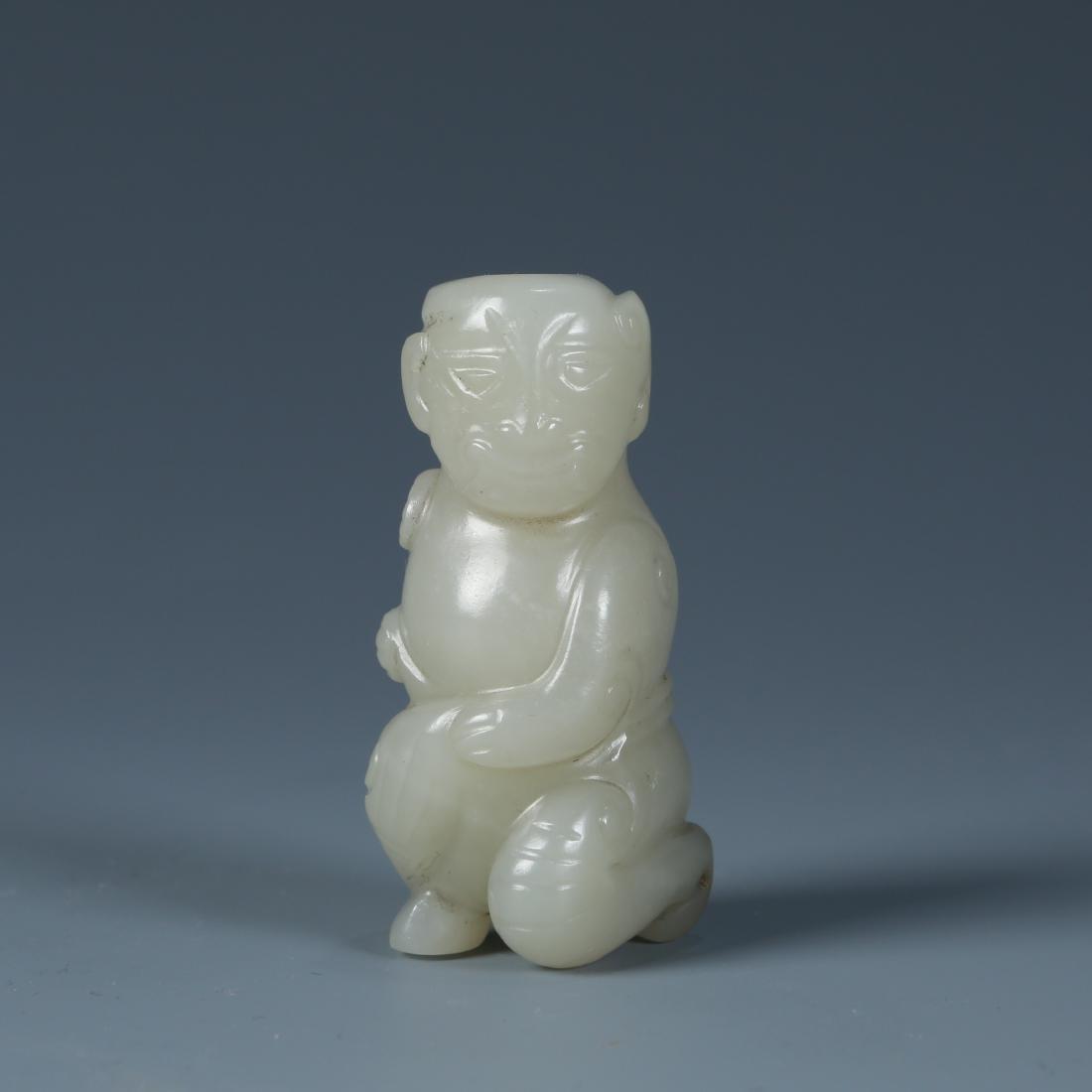 Carved Jade Figure