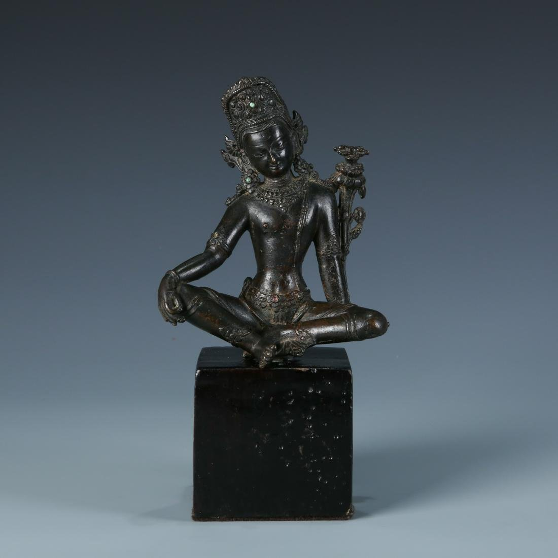 Bronze Figure of Buddha