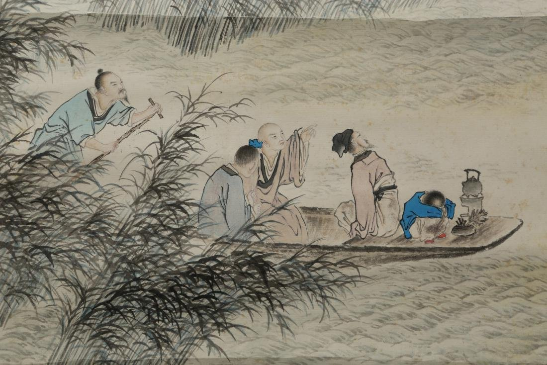 ZHANG DAQIAN: Landscape Painting Ink and Color on Paper - 4