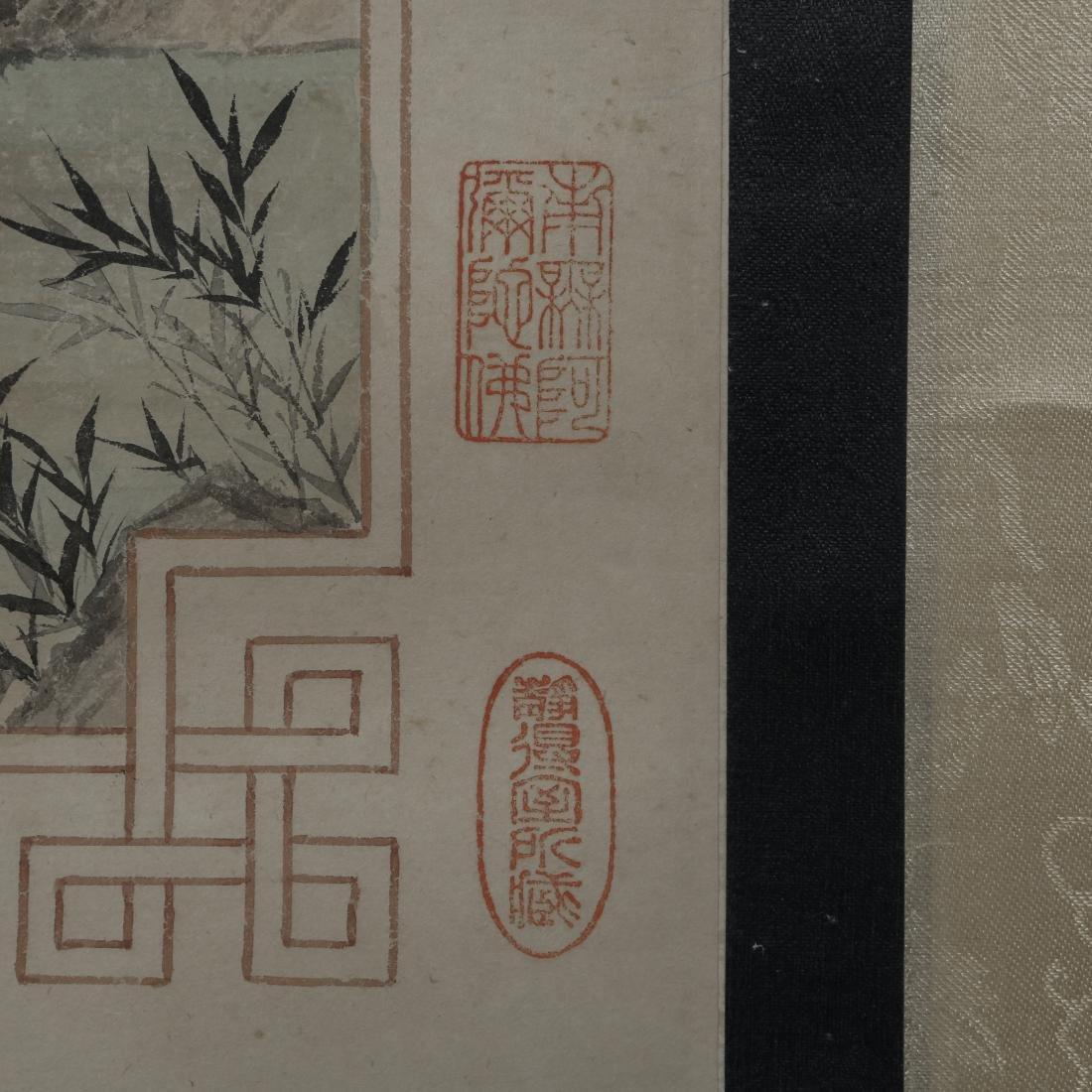 """WU HUFAN AND PAN JINGSHU: """"Guan Yin"""" Hanging Scroll - 6"""