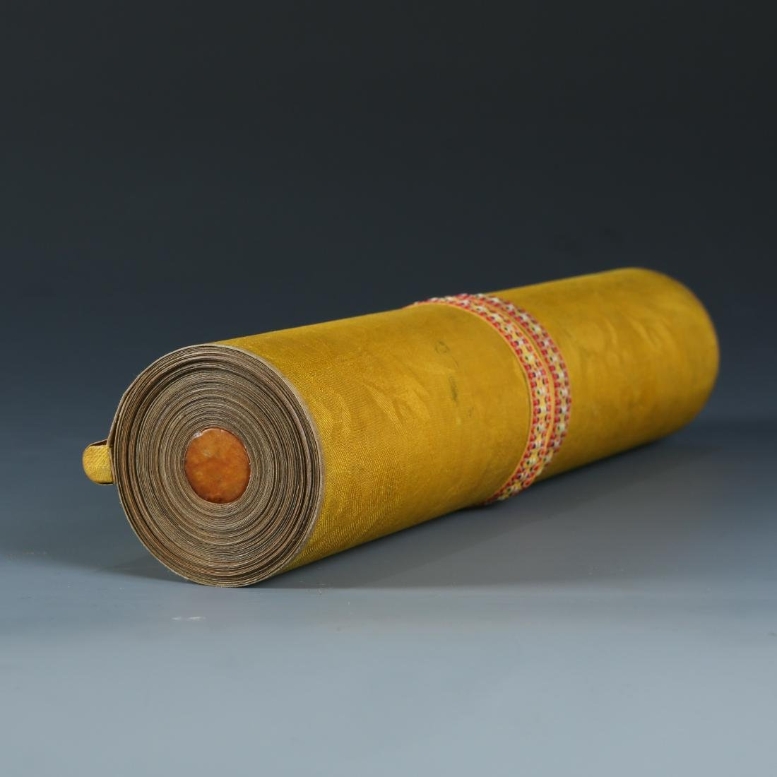 "DING YUNPENG: ""Arhats"" Long Hand Scroll - 4"