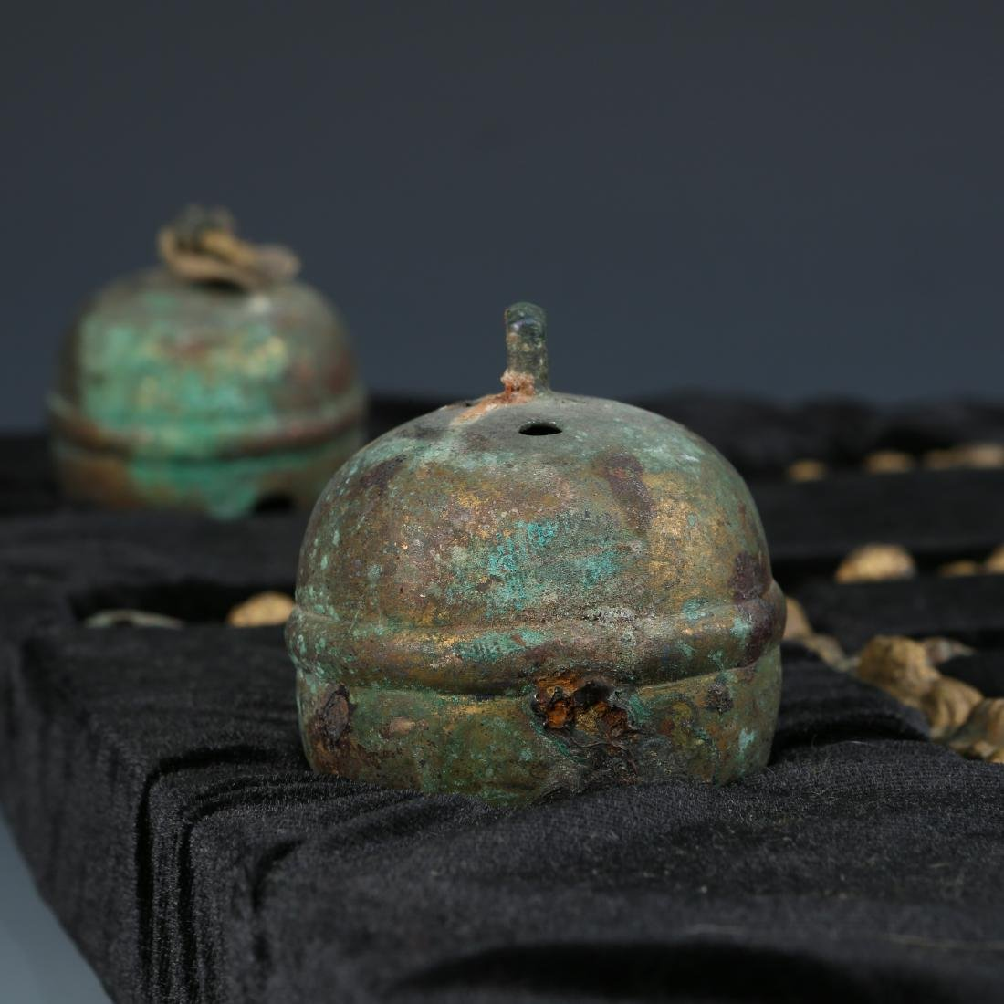 Rare Liao Dynasty Set of Bronze Horse Harness - 3