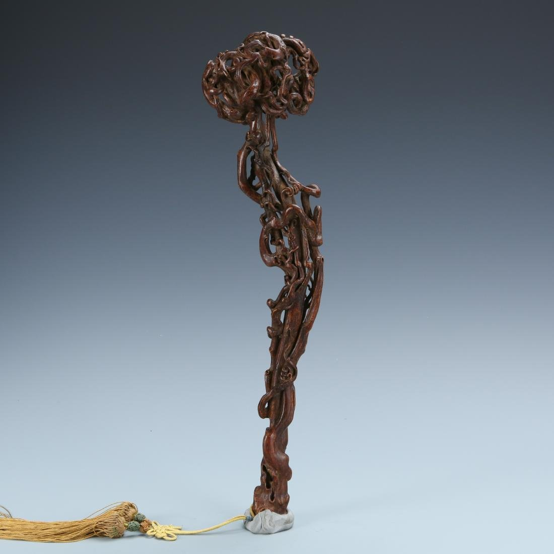 Christie's: Superbly Carved Agarwood Chen Xiang Ruyi