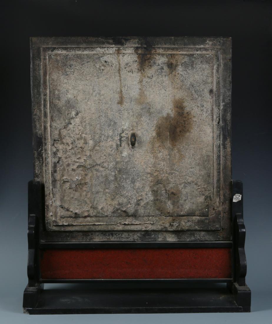 Pair of Bronze Buddha Shrine Table Screens - 6