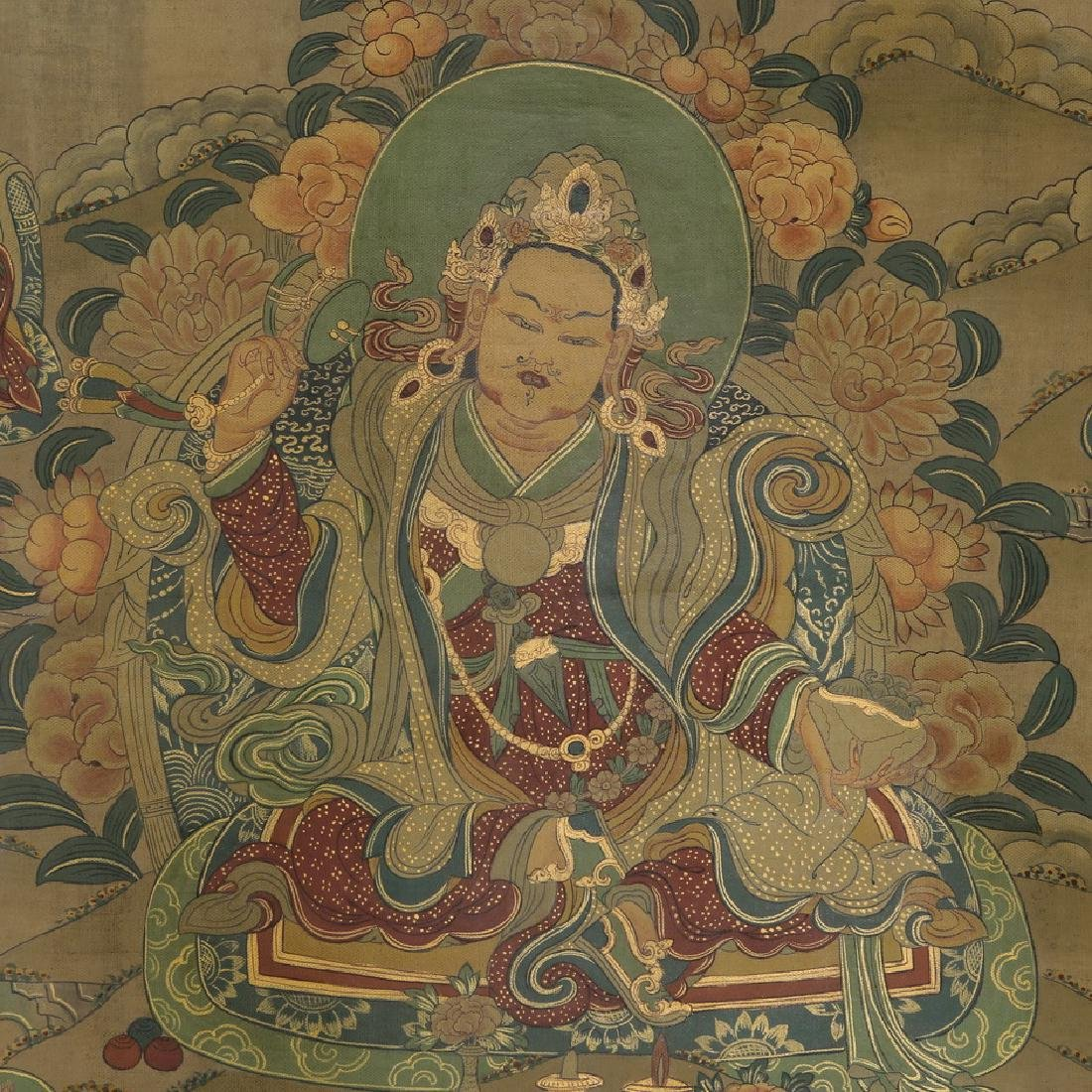 Set of Four Thangkas of Buddha Shakyamuni, Tibet - 4