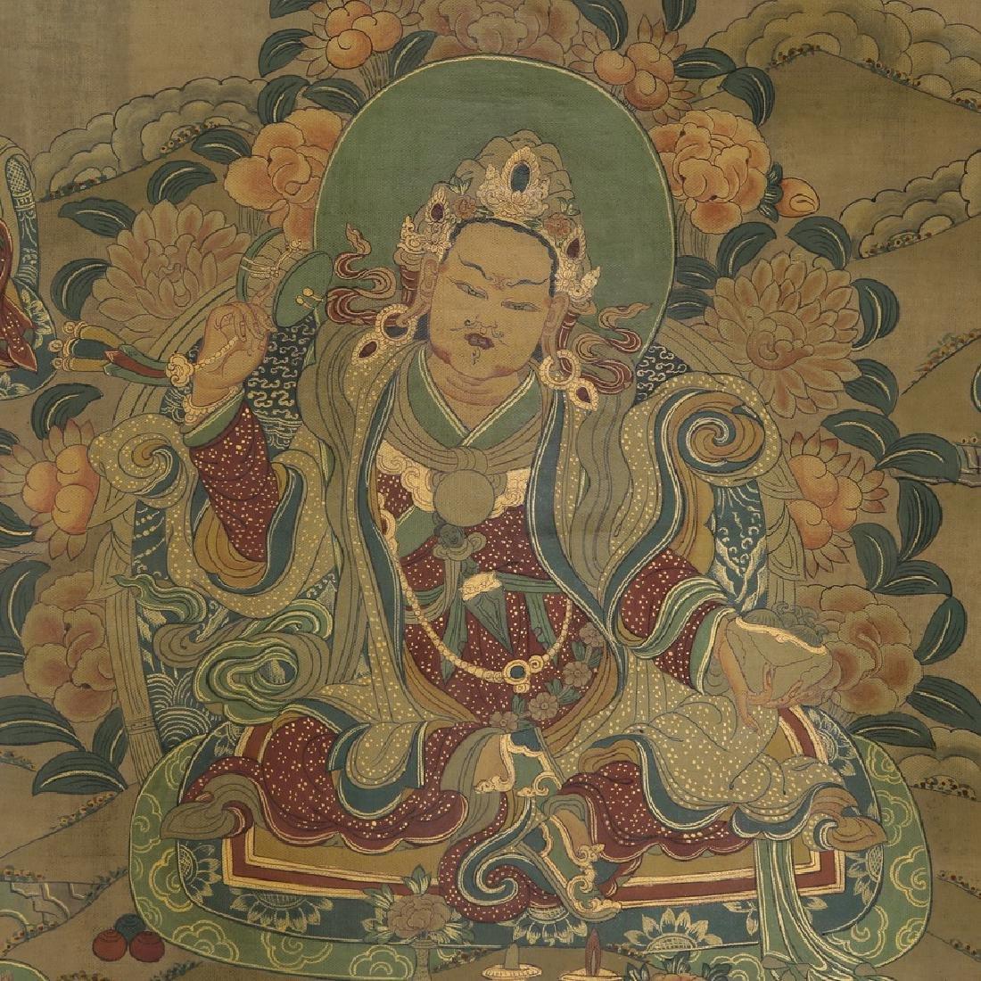 Set of Four Thangkas of Buddha Shakyamuni, Tibet - 4