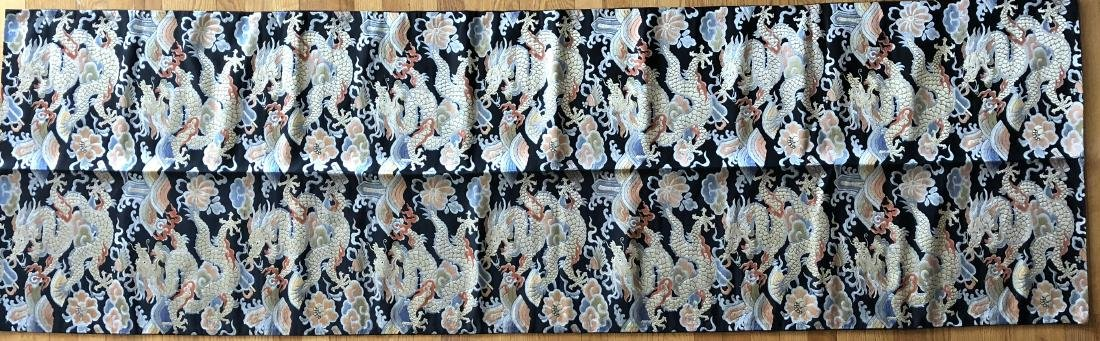 """Chinese Silk Embroidery """"Dragon"""" Banner - 2"""