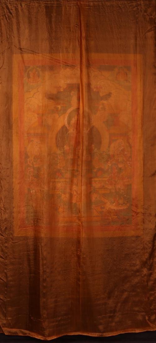 Tibetan Thangka of Jambhala - 2