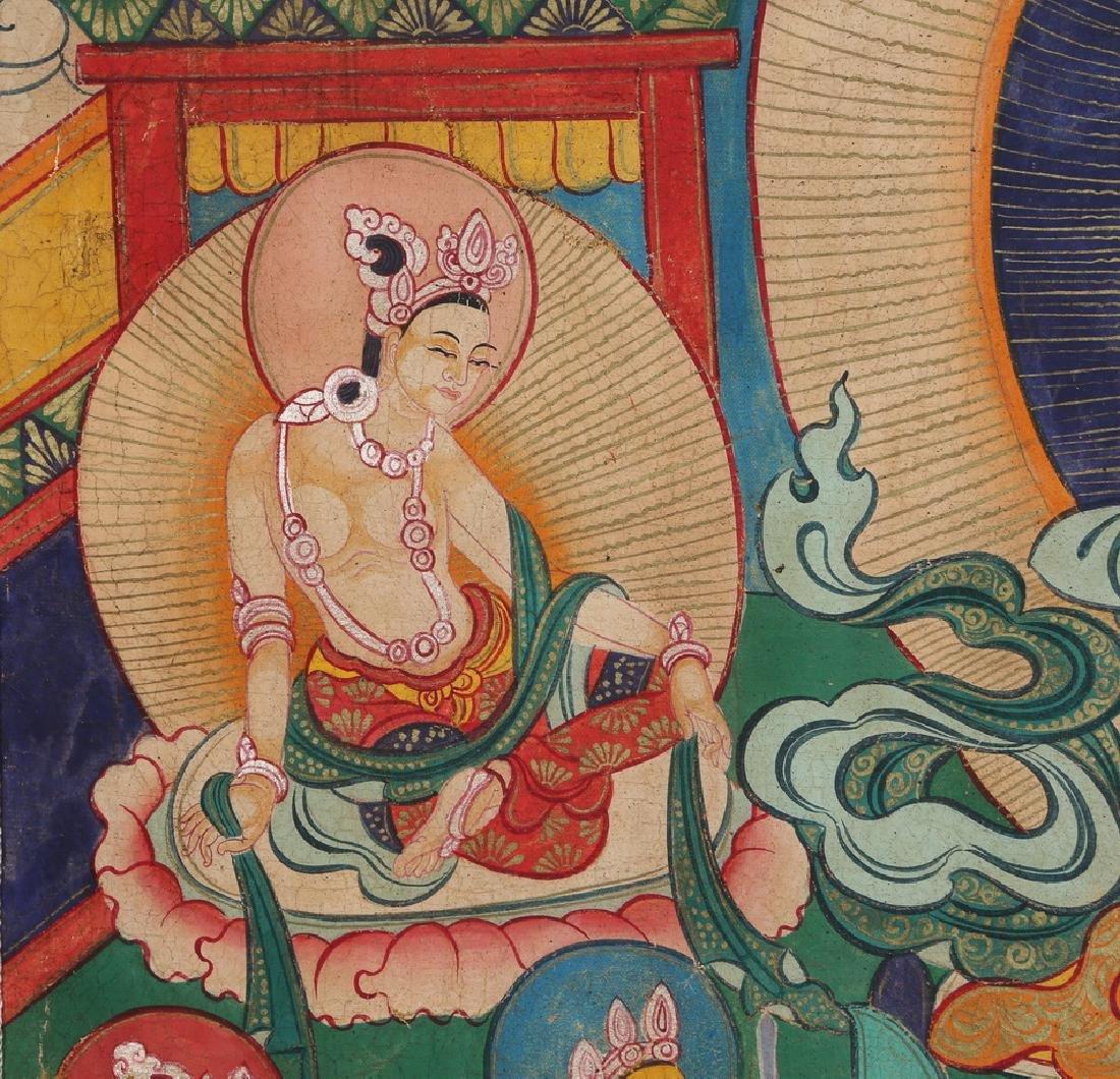 Tibetan Thangka of Jambhala - 5