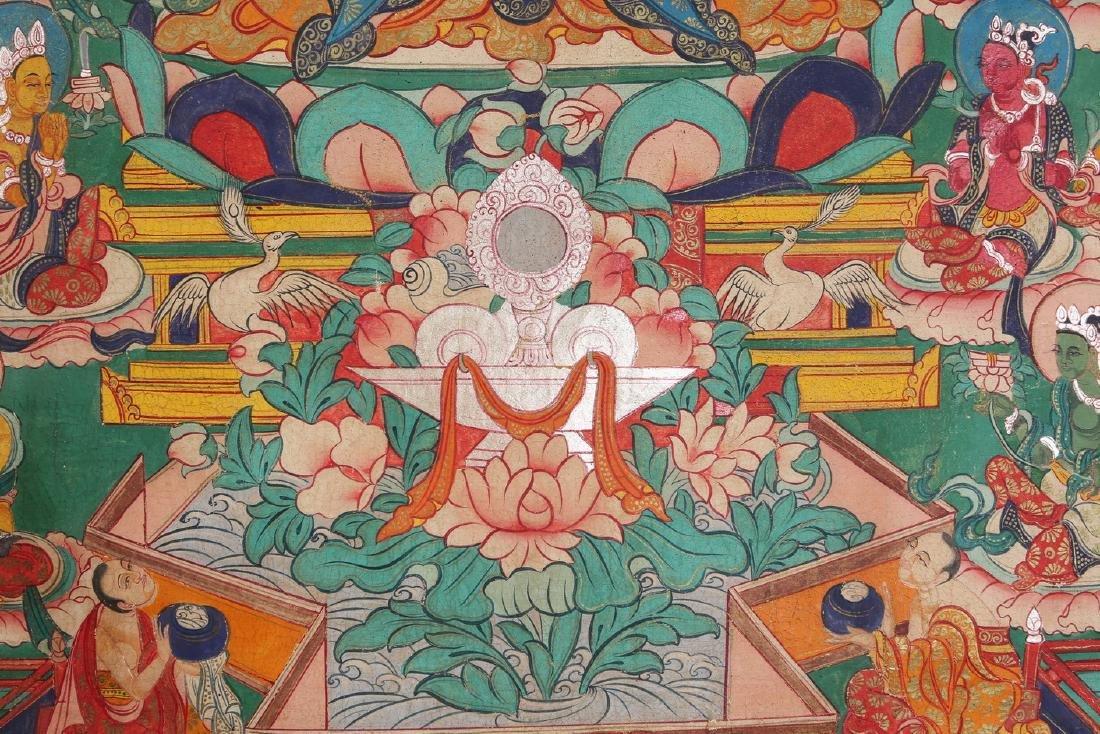 Tibetan Thangka of Jambhala - 6
