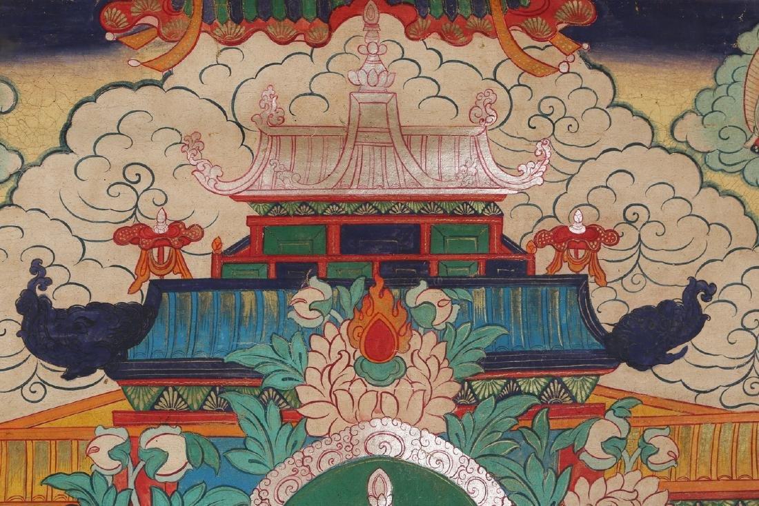 Tibetan Thangka of Jambhala - 7