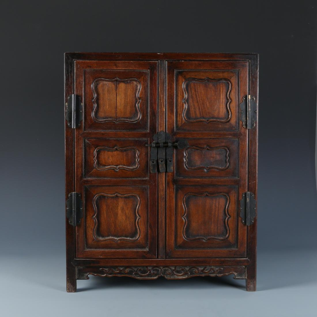 Wood Cabinet with Pin Lock