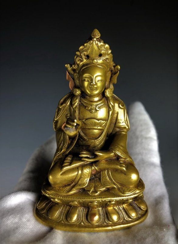 Gilt Bronze Figure Of Shyama Tara