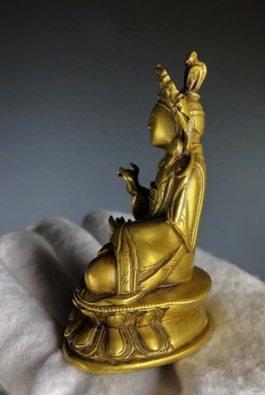 Gilt Bronze Figure Of Shyama Tara - 4