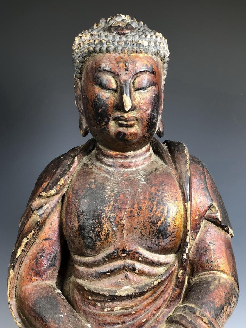 Gilt Wooden Figure Of Shyama Tara - 2