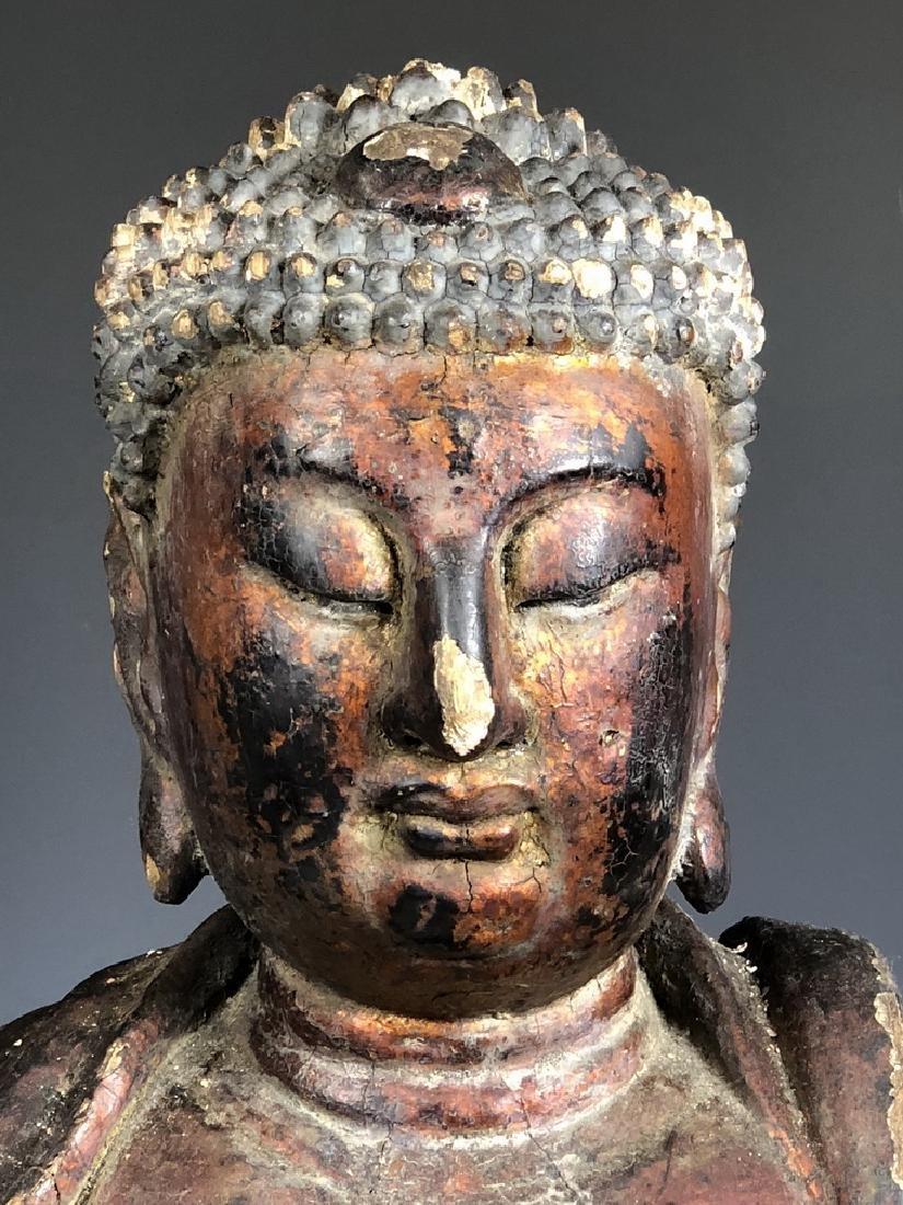 Gilt Wooden Figure Of Shyama Tara - 3