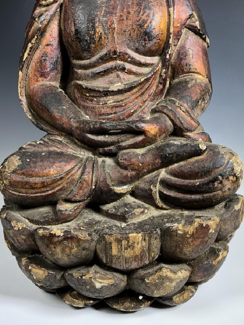 Gilt Wooden Figure Of Shyama Tara - 4