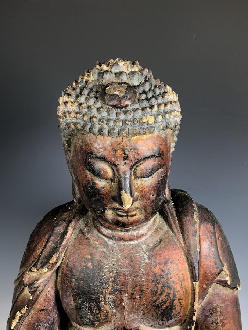 Gilt Wooden Figure Of Shyama Tara - 5