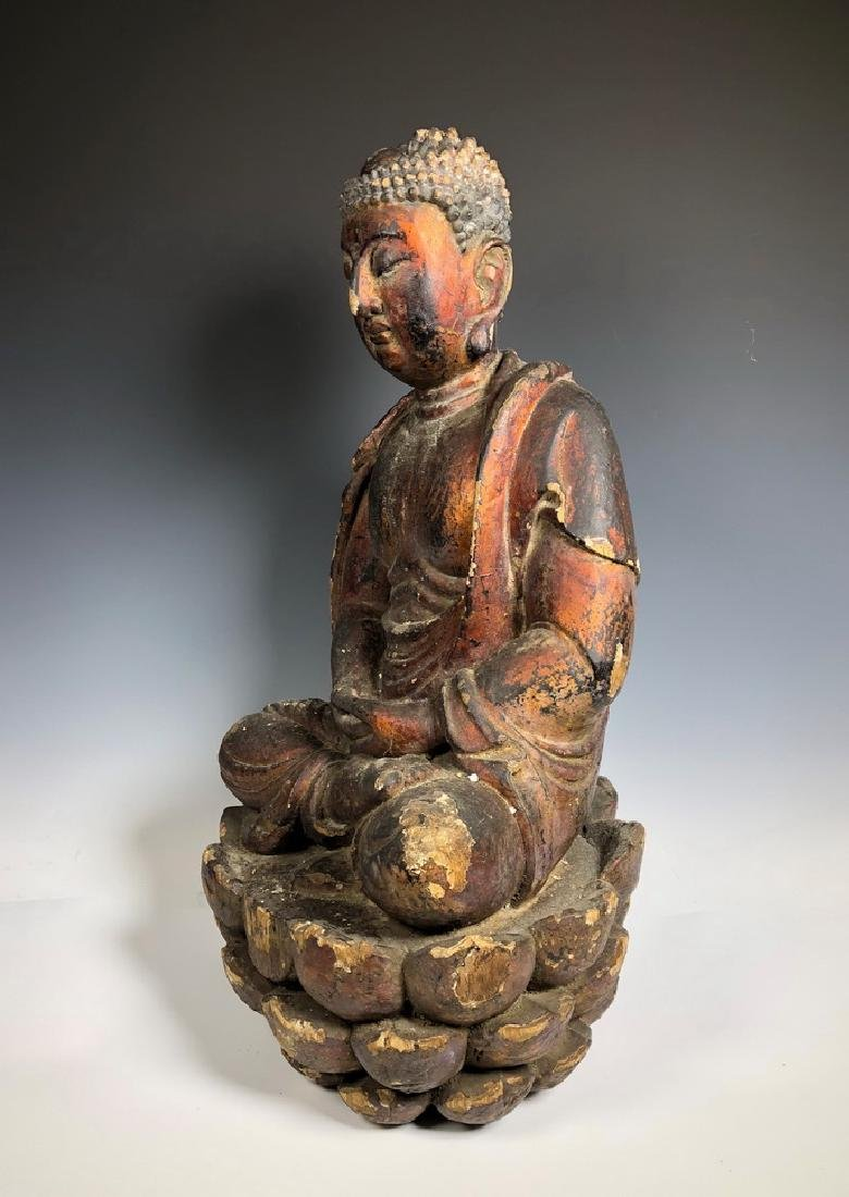 Gilt Wooden Figure Of Shyama Tara - 6