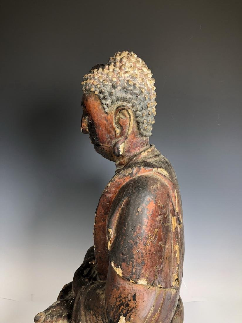 Gilt Wooden Figure Of Shyama Tara - 7