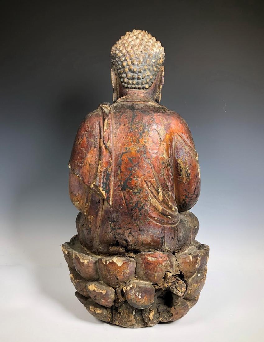 Gilt Wooden Figure Of Shyama Tara - 8