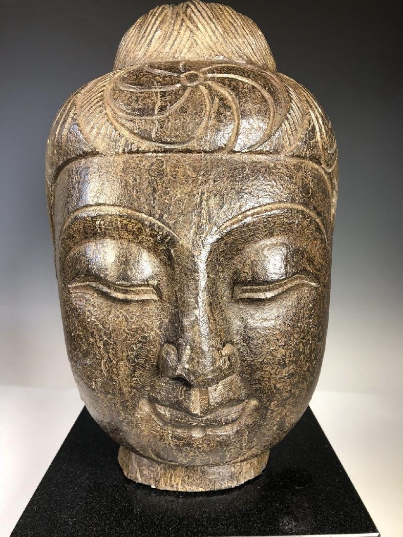 Marble Bust of GuanYin - 2