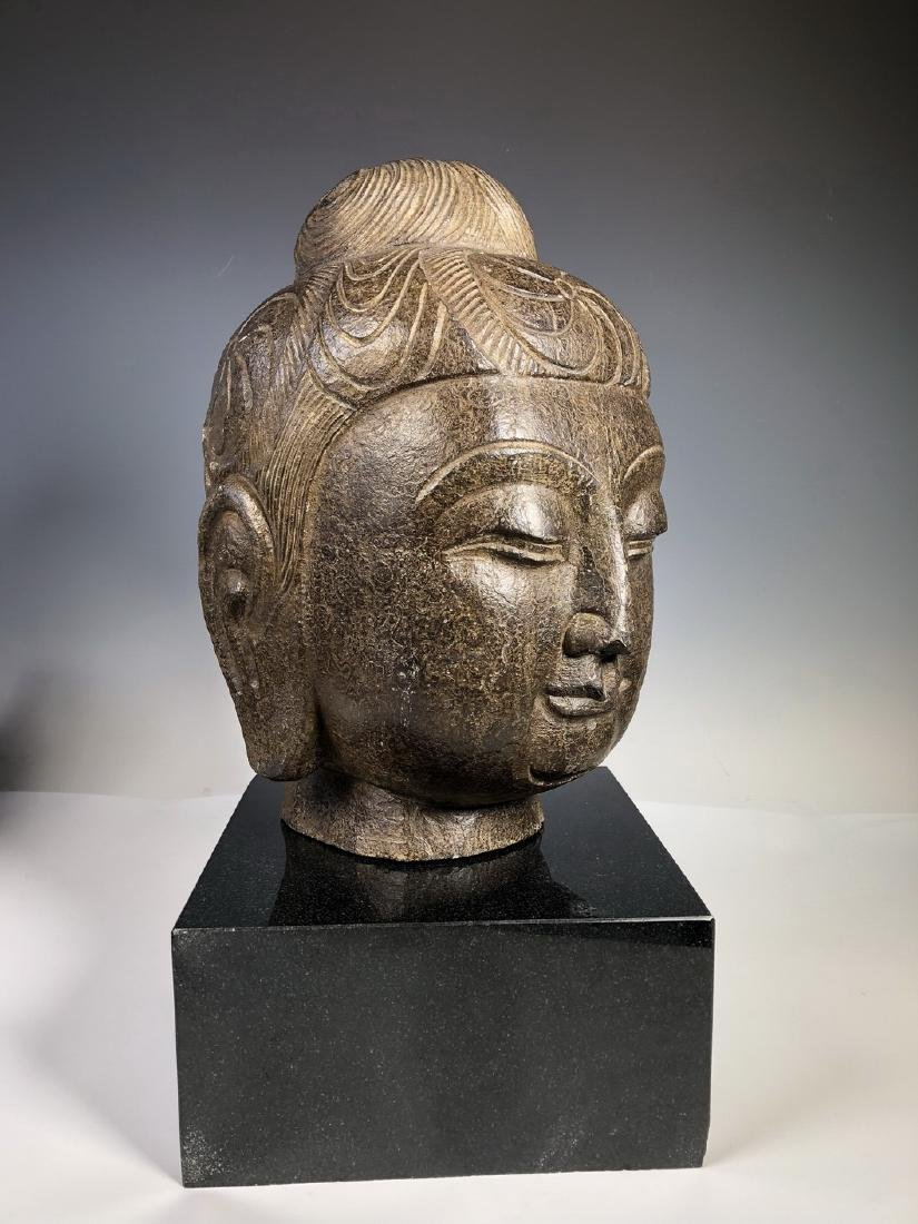 Marble Bust of GuanYin - 8