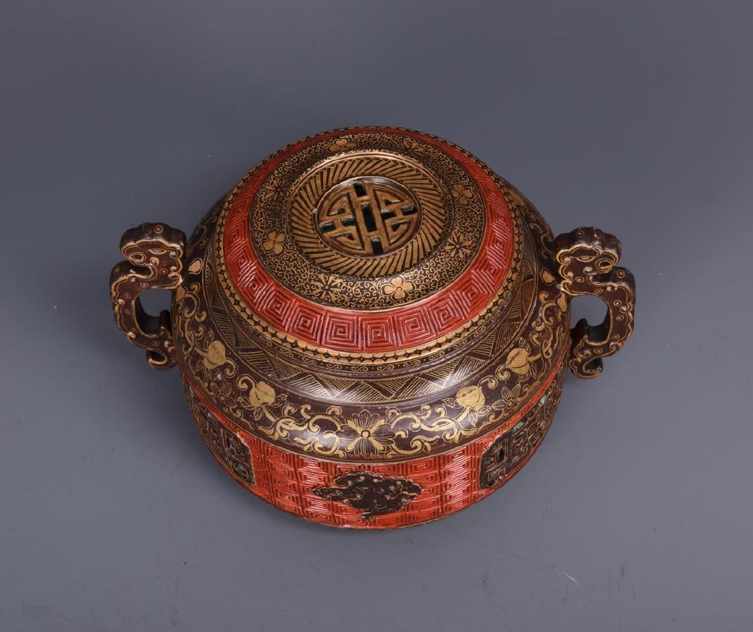 Porcelain Censer with Mark - 2