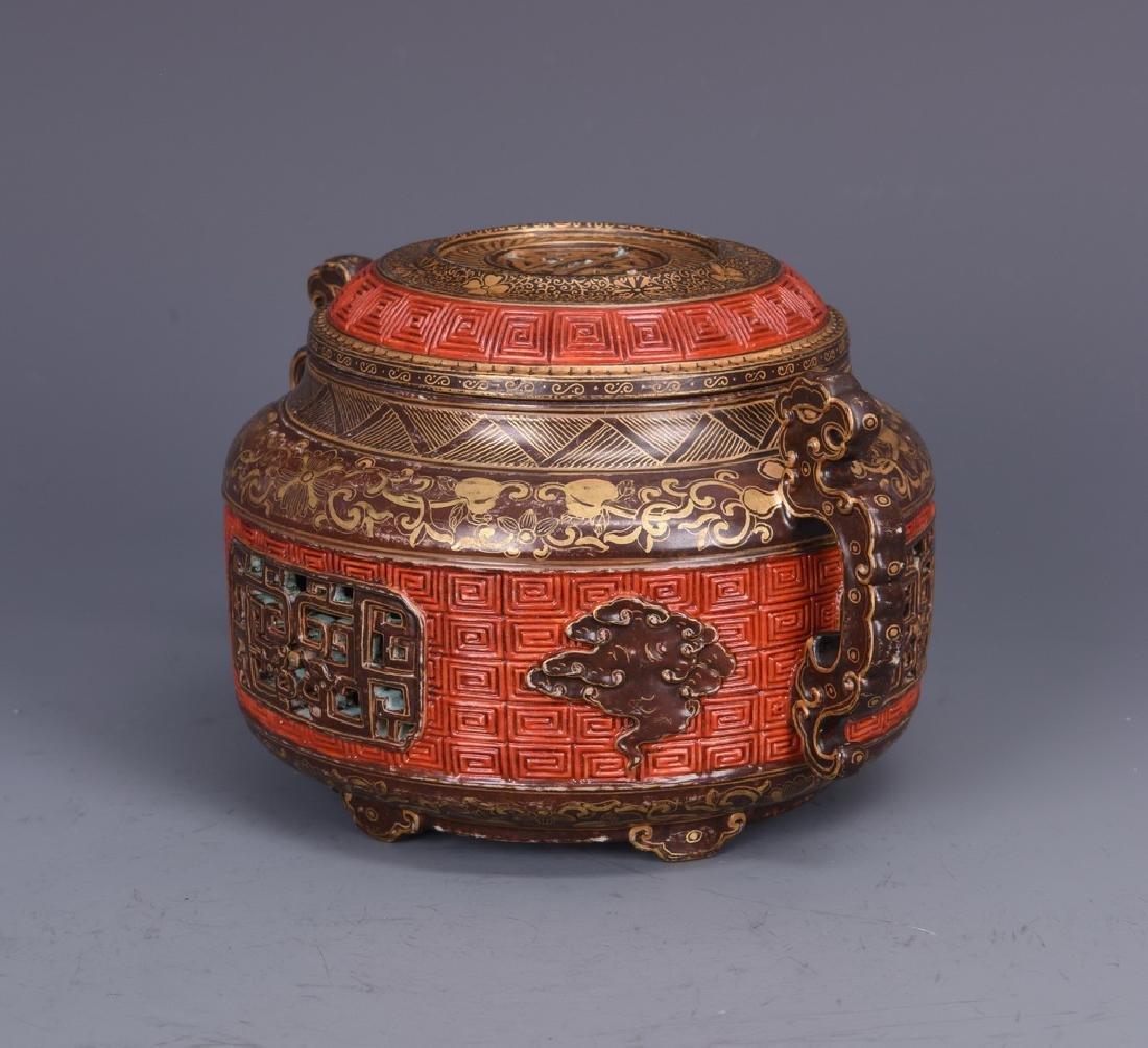 Porcelain Censer with Mark - 6
